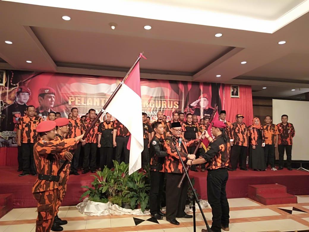 Ketua BEP Lantik Dedy Yon sebagai Ketua MPC Pemuda Pancasila Kota Tegal Periode Tahun 2018-2022