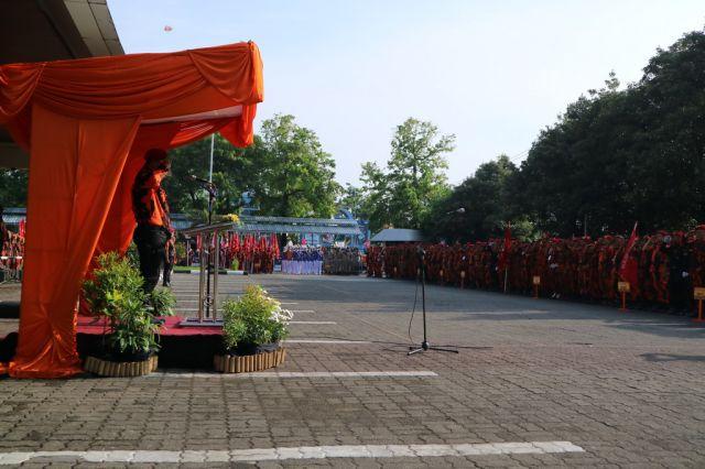 Ketua BEP Lepas 5,624 Kader Pemuda Pancasila ikuti Napak Tilas Pancasila Abadi dan Deklarasi NKRI Harga Mati