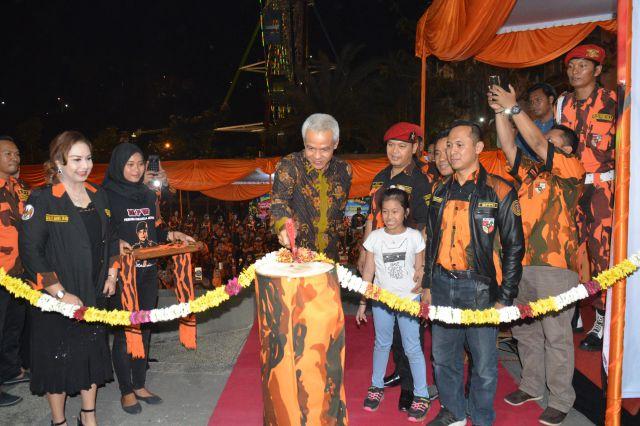Gubernur Ganjar Pranowo Resmikan Mako MPW Pemuda Pancasila Jawa Tengah